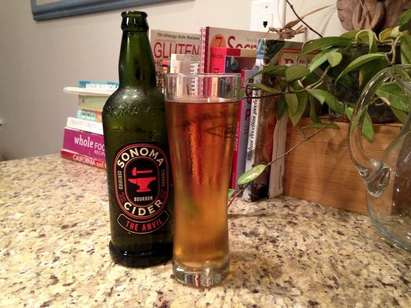 Sonoma Cider Anvil Bourbon