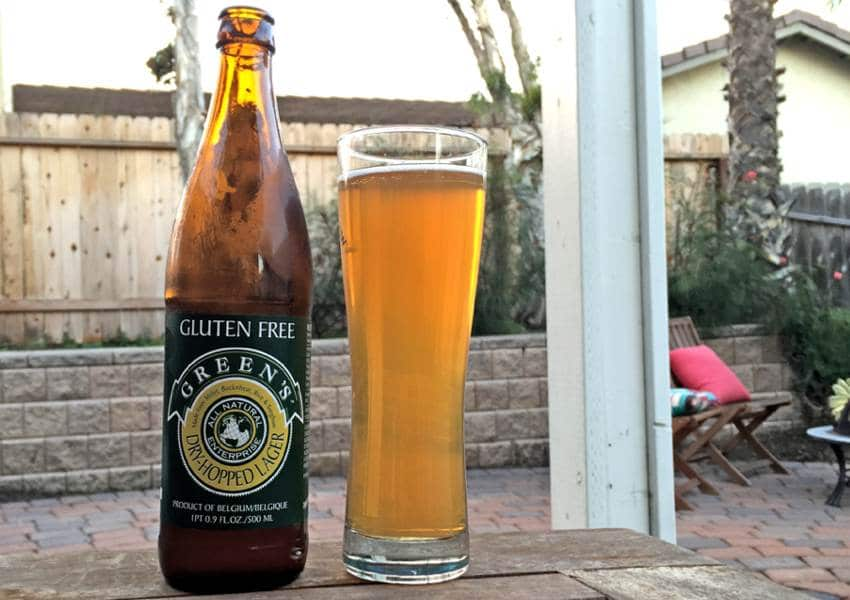 Green's Dry Hopped Lager Review