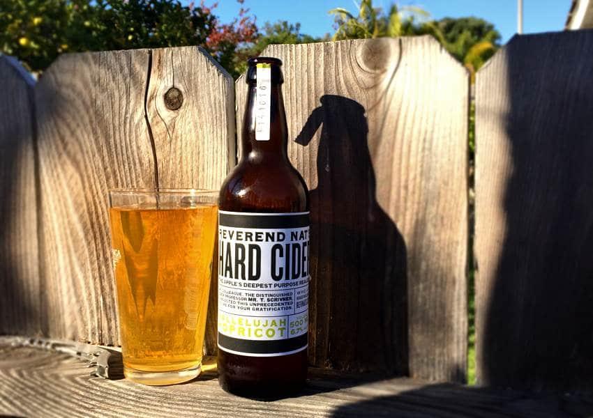 Reverend Nat's Hallelujah Hopricot Hard Cider Review