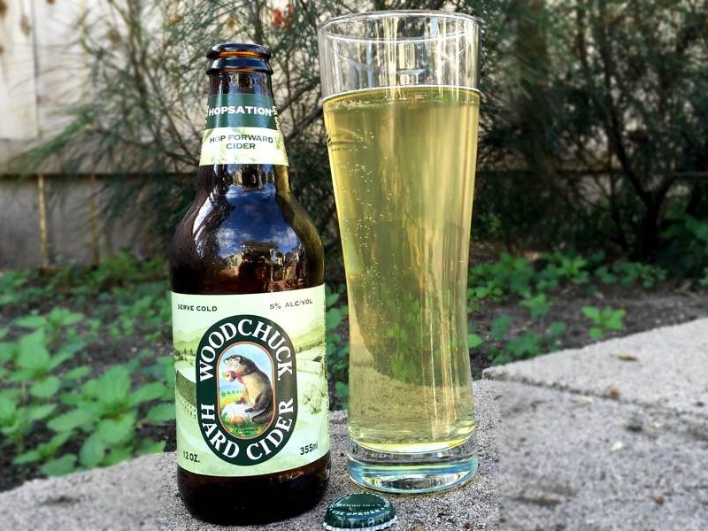 Woodchuck Hopsation Hard Cider Review